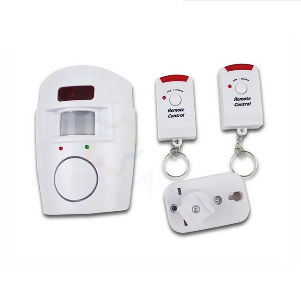 Home Security Alarm PIR Alert Infrared Anti-theft Motion Detector Monitor Wireless Alarm System With Remote Controller 2020 New