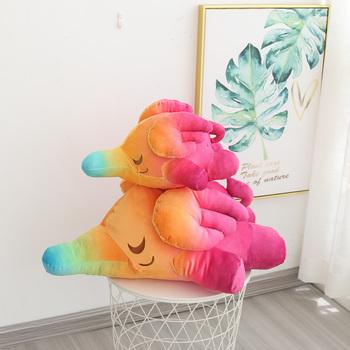 Tęcza w stylu kreskówki Dumbo pluszowa zabawka pluszowa poduszka słoń zabawki dla dzieci Kawaii pluszowe zwierzaki prezenty zabawki do dekoracja wnętrz dla dzieci tanie i dobre opinie BEATITUDINEM C CN (pochodzenie) Tv movie postaci MATERNITY W wieku 0-6m 7-12m 13-24m 25-36m 4-6y 7-12y 12 + y 18 + Genius