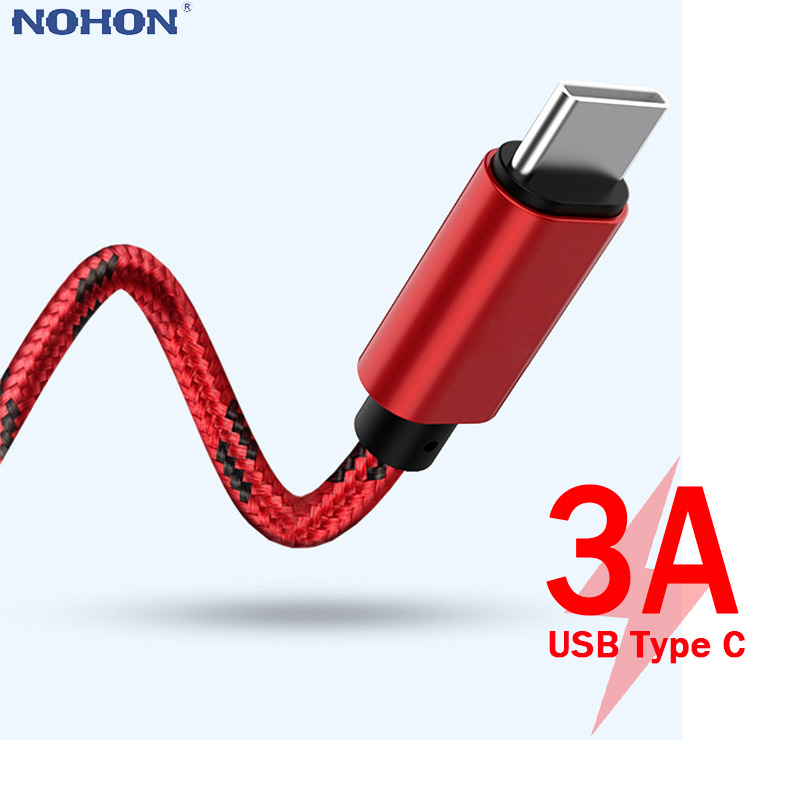 1 2 3m Data Cord Origin Charger for xiaomi redmi note 7 USB-C Mobile Phone Fast Charging Type-C Cable for Samsung Galaxy S8 Plus(China)