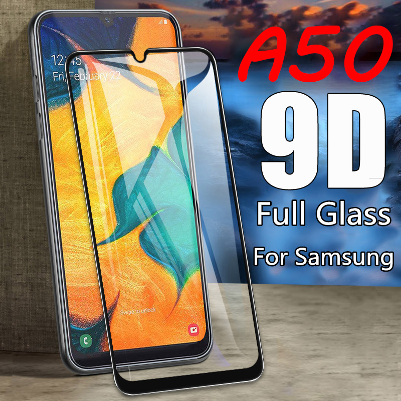 Image 2 - 2 In 1 on For Samsung Galaxy A50 2019 Camera Film Screen Protector Protective Tempered Glass for Galaxy SM A50 A505F A30 A70 A40-in Phone Screen Protectors from Cellphones & Telecommunications