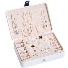 קידום מכירות קלאסי תכשיטי עור מתנת קופסות מודפס אופנה תמונה פשוט עיצוב ליידי של ומקסים ילדה של תכשיט ארון