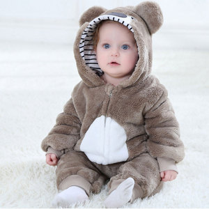 Image 3 - Baby RomperToddler Boy Girl Koala Costume Kawaii Cute Warm Onesie Newborn Infant Animal Jumpsuit Winter Clothes Kigurumis Pajama
