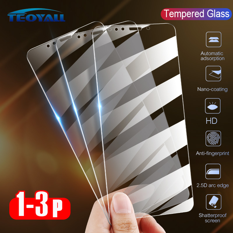 3PCS Full Cover Protective Glass For Iphone 11 X XR XS Max Tempered Glass On IPhone 10 8 7 6 6S Plus 11 Pro Max Screen Protector
