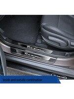 Hyundai's new Tucson 환영 페달  인테리어 수정 특수 액세서리  장식용 스테인레스 스틸 가드
