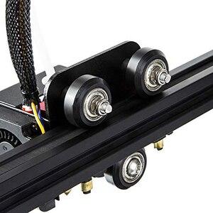 Image 4 - 12/24 pièces CNC openbuild roue POM en plastique avec 625zz roue de poulie ronde Passive/v slot Perlin roue de poulie pour CR10 Ender 3