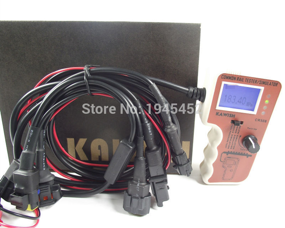 Diesel Common Rail Pressure sensor Tester and Simulator for Bossch Delphii Densso Sensor Test Common rail diagnosis
