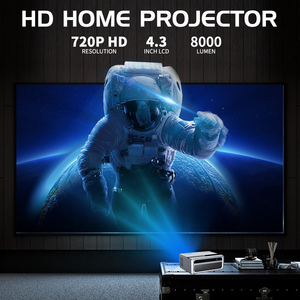 Image 2 - UNIC New CP600 LED 8000 Lumens Projector 4K 1080P Full HD HDMI WIFI LCD Home Theater Movie Beamer Android Proyector 150 Screen