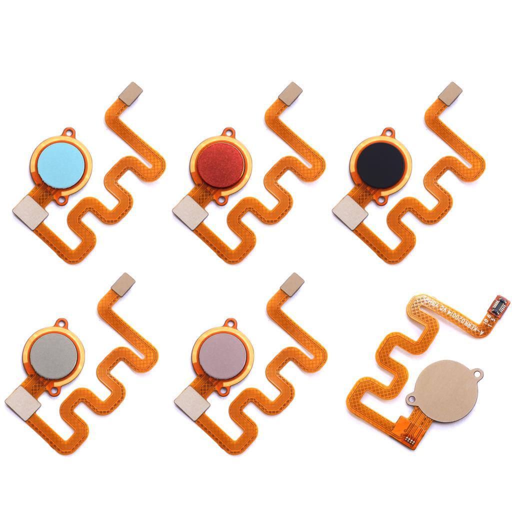 For Redmi 6 Pro/xiaomi Mi A2 Lite Touch ID Fingerprint Sensor Scanner Home Return Key Menu Button Flex Cable Ribbon