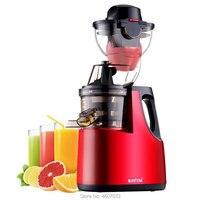 Comercial 250w poderoso motor juicer grande diâmetro boca grande frutas lento espremedor frutas vegetal multifuncional casa