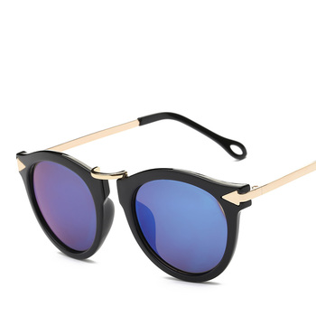 XaYbZc Cat Eye Sunglasses Women Luxury Brand Arrow Sun Glasses Vintage Shades For Woman Sunglass Ladies Flowers Sunglases 6