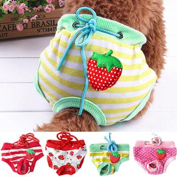 Female Pet Dog Puppy Diaper Pants Physiological Sanitary Short Panty Nappy Underwear M/L/XL image