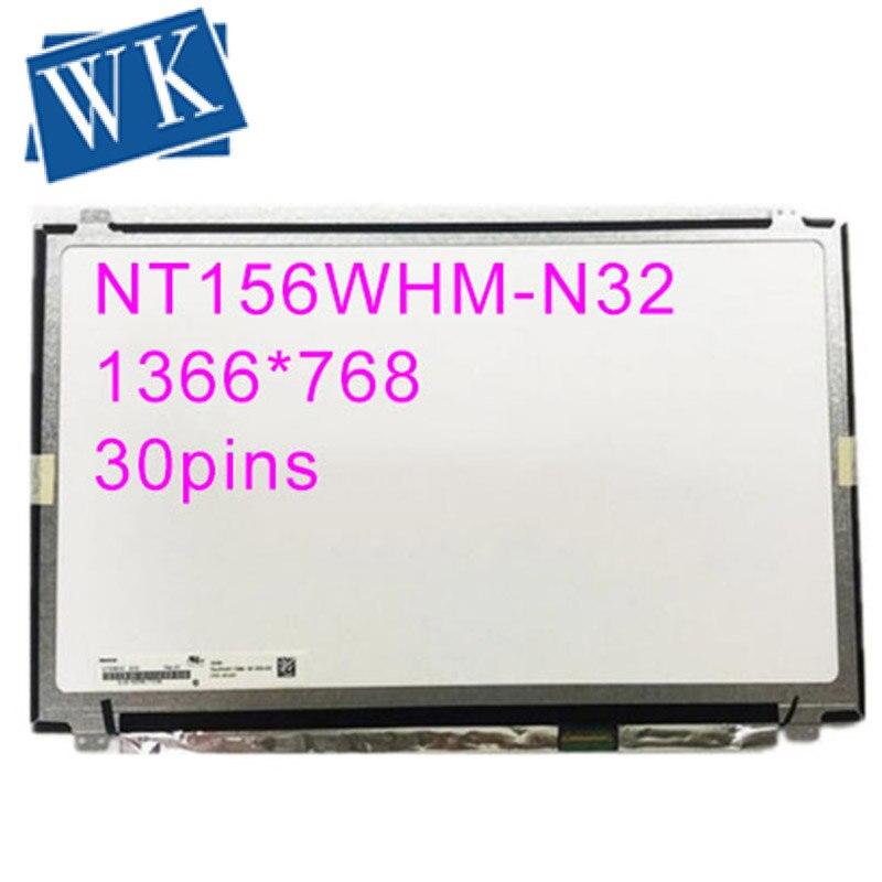 NT156WHM-N32 V8.0 For BOE 15.6 Slim 30pin Matrix LCD Screen LED Display NT156WHM N32 V8.0 Replacement