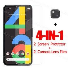 Vidro de cola completa para o protetor de tela do pixel 4a do google para o filme protetor de vidro moderado do telefone do pixel 4a 5g