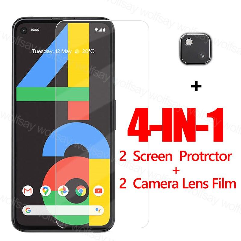 Стекло на клеевой основе для Google Pixel 4A, Защита экрана для Pixel 4A, закаленное стекло, защитная пленка для телефона Google Pixel 5 4A 5G