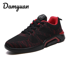 Damyuan 2019 Breathable Running Shoes For Men Zapatillas Hombre Outdoor Sport Sneakers Lightweigh Walking Size 44