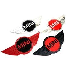 3D металлический автомобильный передний капот, эмблема, логотип, задний бампер, багажник, знак, наклейка для мини-автомобиля, Стайлинг, аксес...