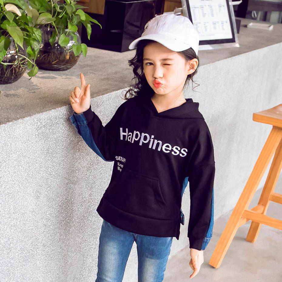 สาว 2020 ใหม่ล่าสุดแจ็คเก็ตสำหรับเด็กผู้หญิงรูปแบบจดหมายเด็กแจ็คเก็ตวัยรุ่นเสื้อผ้าเด็ก 6 8 10 12 14 เสื้อผ้า