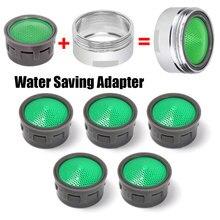 5 sztuk kran oszczędzający wodę Aerator gwint żeński urządzenie kranu kran z rozpylaczem filtr dyszy Adapter woda Bubbler akcesoria do kranów