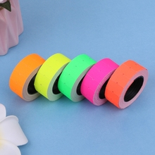 Retail tags 1 Roll 500PCS Colorful Adhesive Price Tag Paper label Mark Sticker for MX-5500 Gun lableller