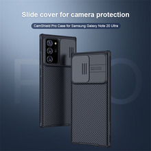 Do Samsung Galaxy Note 20 Ultra Case NILLKIN pokrowiec ochronny do aparatu Galaxy Note 20 PC antypoślizgowy Camshield Pro