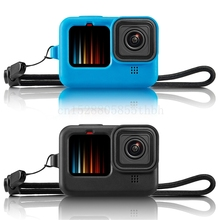Case Action-Camera-Accessories Gopro-Hero Lens-Cap Body-Cover Protective Black Go-Pro
