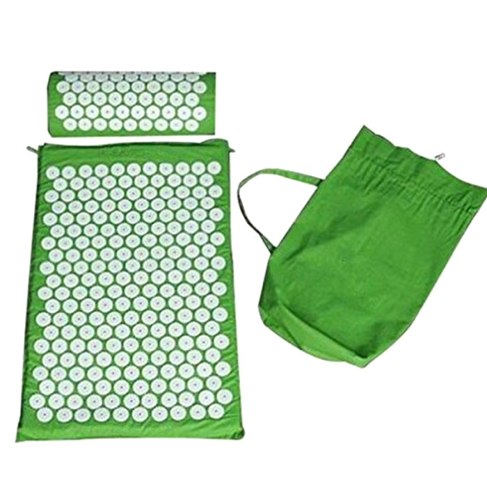 SEC88 Acupressure Massage Mat with Pillow set for Stress Pain and Tension Relief 23