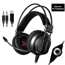 V10 Gaming Headphones Casque Computer Stereo Game Headset With Microphone Mic LED Light For PC Gamer Fone De Ouvido цена и фото