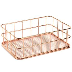 Storage Basket metal Wire Bath