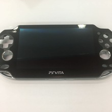 الأصلي 90% جديد ل ps vita psvita psv 1 1000 100x شاشة الكريستال السائل مع شاشة تعمل باللمس الرقمية تجميعها الأسود