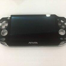 Originele 90% Nieuwe Voor Ps Vita Psvita Psv 1 1000 100x Lcd scherm Met Touch Screen Digitale Gemonteerd Black