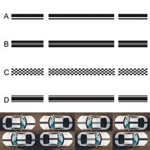 Long Stripe Car Stickers Auto Stylish Decals Vinyl Racing Sports Decoration Accessories