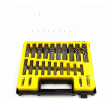 цена на 150Pcs/Case Mini Drill Bit Set HSS Microtech Power Tools Small Precision Twist Drilling Kit with Plastic Box  0.4-3.2mm