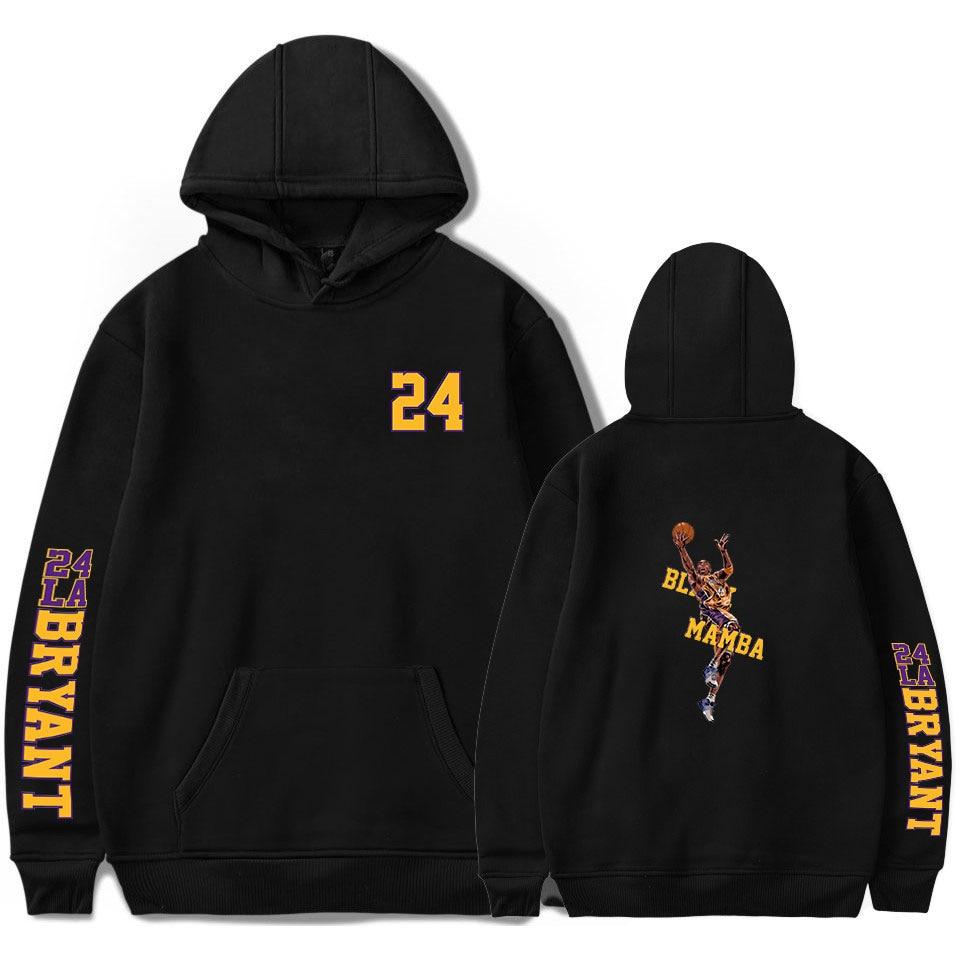 Kobe Bryant Hoodies Sweatshirts Kobe Bryant Lakers 24 Hoodies Men Women Pullovers Hoody Casual Hip Hop Streetwear Letter Hoodies