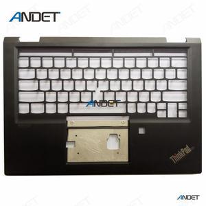 Nowy oryginalny Lenovo ThinkPad X390 jogi 20NN 20NQ wielkie litery podpórce pod nadgarstki klawiatura Bezel pokrywa 460.0G107.0011 SM10T37360 02HL644