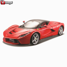 Bburago 1:24 LAFerrari collection manufacturer authorized simulation alloy car model crafts decoration toy tools