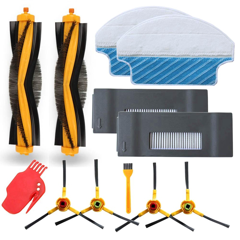 Replacement For <font><b>Ecovacs</b></font> <font><b>Deebot</b></font> M80 M80 Pro Dt85 Dt83 <font><b>Dm81</b></font> Dm85 Robot Vacuum Cleaner Accessory Kit image
