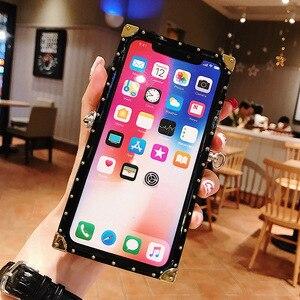 Image 5 - Moda nit plac Bling brokat smycz etui na telefony dla Huawei Mate 30 Pro Mate 20 pro Y9 prime 2019 tylna pokrywa Coque Fundas