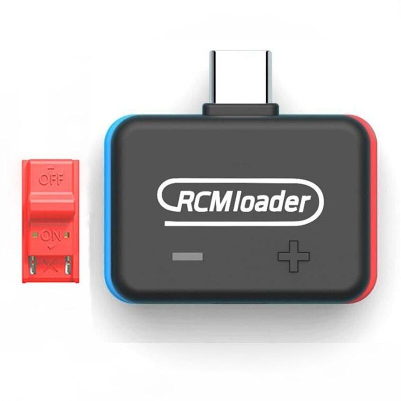 New 1pc/10pcs Upgrade V5 RCM Loader One Payload Bin Injector Transmitter for Nintendo Switch for PC Host Use U Disk Game Save