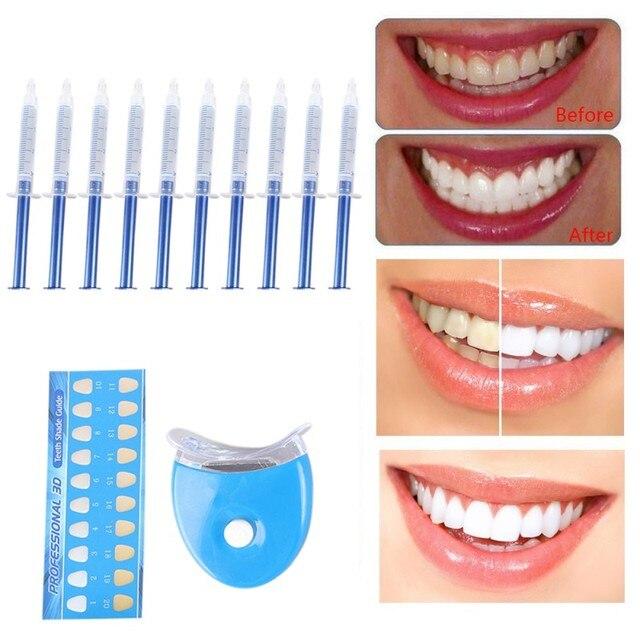 Teeth Whitening 44% Peroxide Dental Bleaching System Oral Gel Kit Teeth Whitener New Dental Equipment 10/6/4/3pc Oral hygiene 2