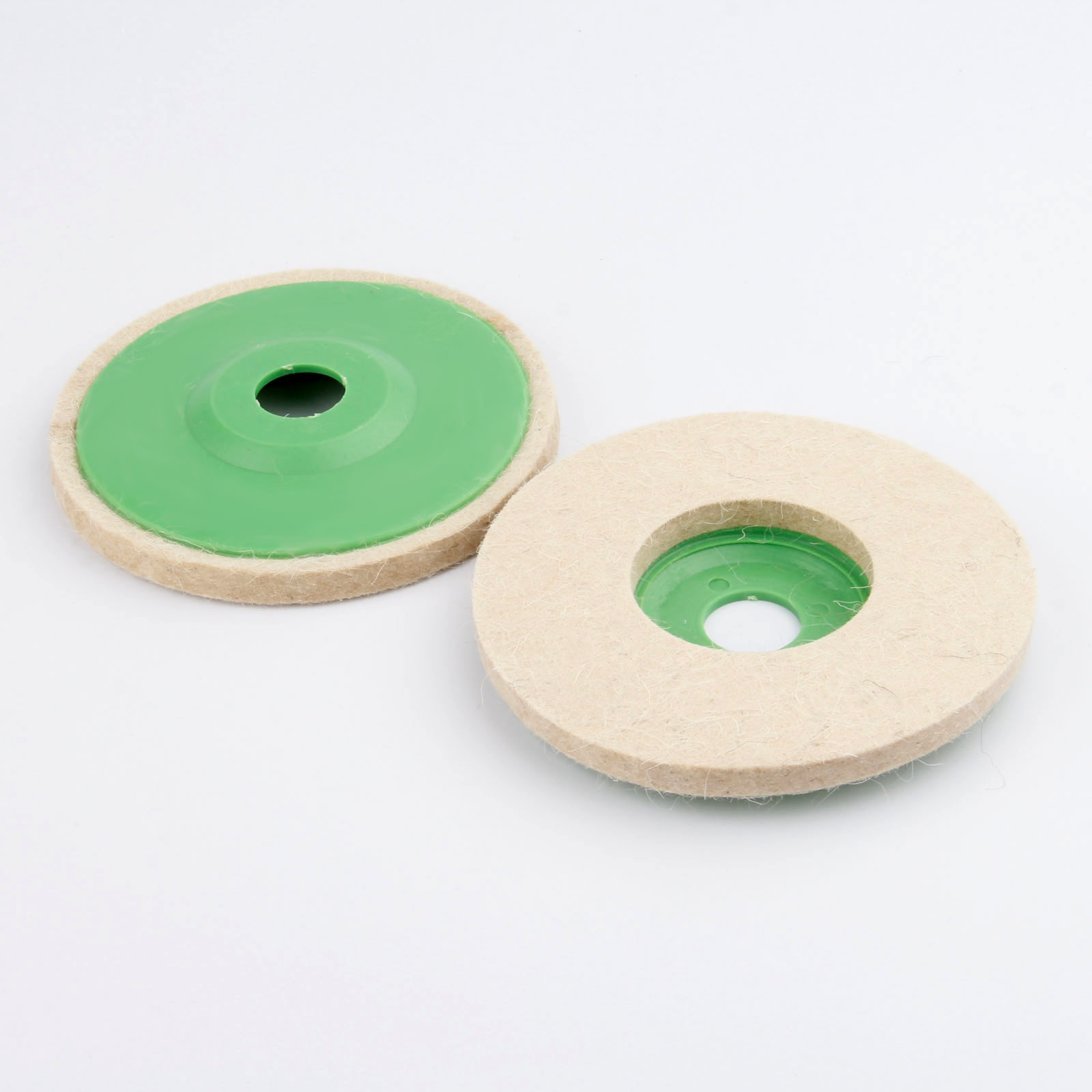 5in 125mm Wool Felt Grinding Wheel Pad Polishing Disc Buffer Polisher Tools