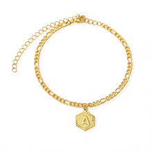 Anniyo Extender Chain / A-Z Initial Letter Anklet for Women Fashion Alphabet Jewelry Gifts Foot Chain Girl Gifts(China)