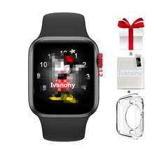 IWO 12 Smart Watch+film+Case Protector IWO12 Smartwatch 44MM Waterproof IP68 ECG Wearable Device VS IWO 8 IWO 9 IWO 11 IWO 13(China)