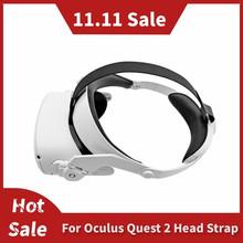 Regulowany dla Oculus Quest 2 opaska na głowę VR elite Strap zwiększ wsparcie forcesuport popraw komfort dostęp do wirtualnej rzeczywistości tanie tanio mifo For Oculus Quest 2 Pojedyncze CN (pochodzenie) Wciągające Virtual Reality 180g For oculus quest 2 elite strap