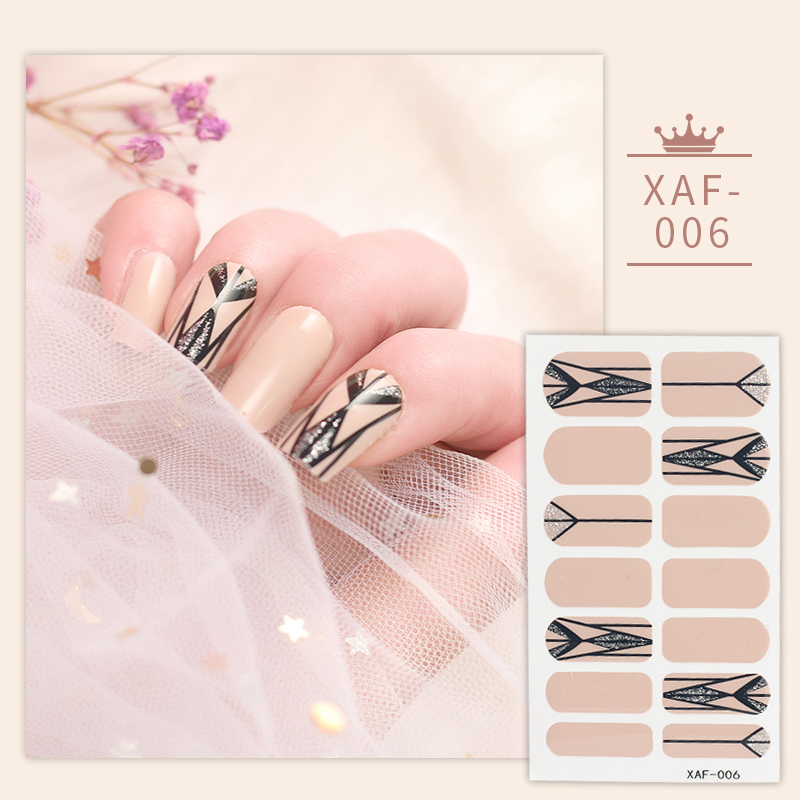 New Arrival Designs Nail Sticker Nail Wraps Wholesale With Competitive Price Nail Art Decoration
