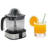 1.2L Electric Juicer Fruit and Vegetable Tools Plastic Juicer Electric Orange Juice Machine Press UK Plug