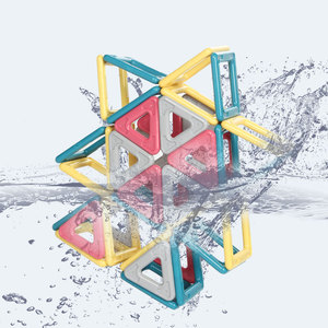 Image 3 - 2019 yeni Macaron renk manyetik bloklar oyuncaklar çocuklar için mıknatıs yapı taşları seti tasarımcı eğitim tuğla manyetik oyuncak