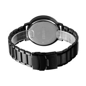 Image 2 - SKMEI relojes digitales deportivos de lujo para hombre, reloj de pulsera de acero inoxidable, pantalla de luz LED, pulsera electrónica