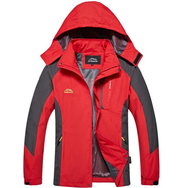 Thin Section Waterproof Windproof Mountaineering Men's Windbreaker 2019 Autumn Outdoor Clothing Women