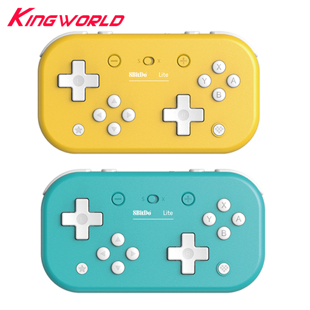 Wireless Bluetooth Controller Gamepad For 8BitDo Lite Joystick For Tetris 2D Game For Switch Lite /Windows /Steam image