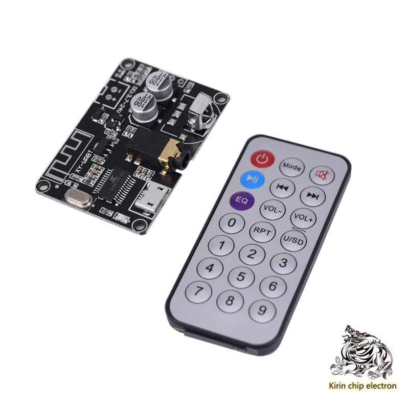 1PCS/LOT Bluetooth 5.0 Decode Board Stereo Bluetooth Audio Module Wide Voltage Sound Volume Tunable Box Power XY-WRBT